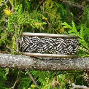 Vintage heavy sterling bracelet